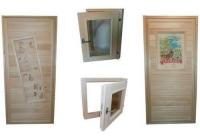 Двери и окна из липы - Купить пиломатериалы в Тольятти