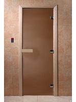 """Дверь Стекл. Матовая Бронза 700х1900 """"DW"""""""