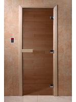 "Дверь Стекл. Бронза 700х1700 ""DW"""