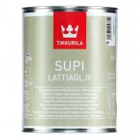 Supi Lattiaoljy - Супи масло для полов в банях и саунах 0.9л.