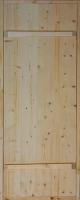 Дверь для бани хвоя с коробкой 660х1760мм на клиньях