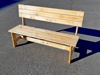 """Скамейка из лиственницы """"Крепыш"""" 1,8м"""